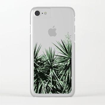 Yucca Clear iPhone Case by ARTbyJWP