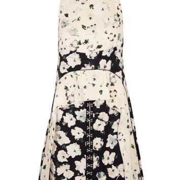 Proenza Schouler Floral-print satin dress
