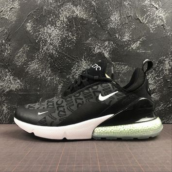 Newest Nike Air Max 270 Black Running Shoes - Best Online Sale