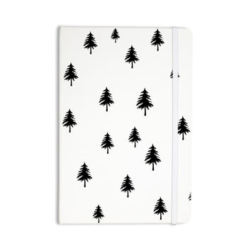 "Suzanne Carter ""Pine Tree"" Black White Everything Notebook"