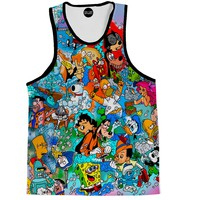 Stoned Toons Tank Top