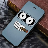 Bender Futurama Wallet for iPhone 4 / 4s / 5 / 5s / 5c / 6 / 6 plus / 7 Samsung Galaxy s3 / s4 / s5 / s6 / s7 Case