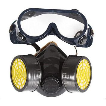 Chemical Industrial Gas Anti-Dust Spray Paint Face Mask Respirator