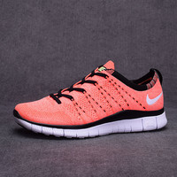 """NIKE""Trending Fashion Casual Orange Sports Shoes"