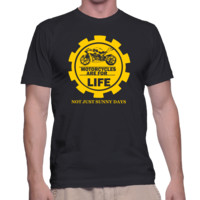 Motorcycles Are For Life And Not Just Sunny Days - MaleT-Shirt