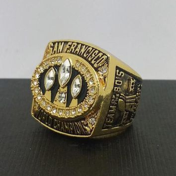 """SPORTS RING * 1988 SAN FRANCISCO """"49ers"""" WORLD * CHAMPIONS/... fast delivery!"""