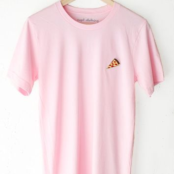 Pizza Tee - Pink