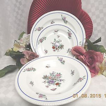 Copeland Spode Sopde Diana, China Dinnerware # Y6986   3 Pc Soup, Salad, Bread