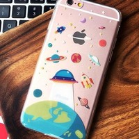 Cute Cartoon Pattern iPhone 6 6s 6Plus 6sPlus 7 7Plus 8 8plus Phone Cover Case