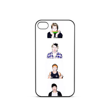 5 Seconds of Summer Portrait iPhone 4 / 4s Case