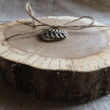 Ring Bearer Pillow Alternative, Oak Wood Slice, Woodland Wedding, Ring Bearer Pillow, Country Wedding, Ring Bearer, Rustic Wood