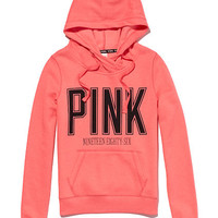 Funnelneck Perfect Pullover Hoodie - PINK - Victoria's Secret