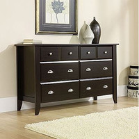 6- Drawer Dresser in Jamocha Dark Espresso Finish