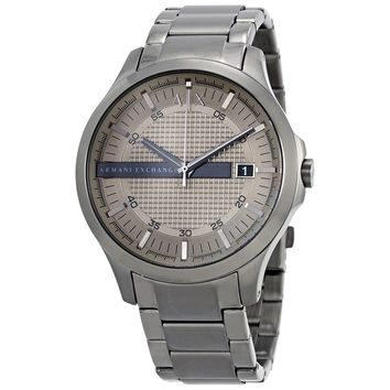 Armani Exchange light Grey Dial Men's Watch AX2194 - Armani Exchange - Watches - Jomashop