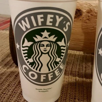 Custom & Personalized Starbucks Cup