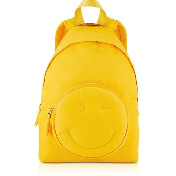 Anya Hindmarch Solei Nylon Chubby Wink Backpack
