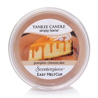Yankee Candle simply home Pumpkin Cheesecake Scenterpiece Wax Melt Cup (Orange)