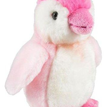 "Wildlife Tree 7"" Stuffed Pink Penguin Plush Floppy Animal Heirloom Brights Collection"