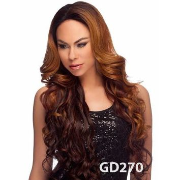 """LACE FRONT WIG, EXTRA LONG LOVEY CURL 32"""" (LL003)"""