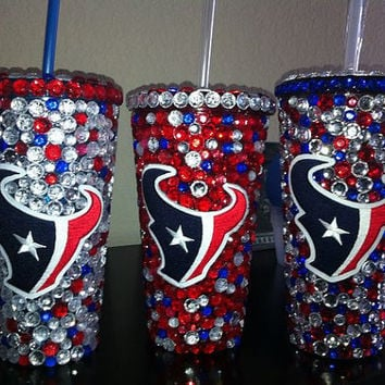 Houston Texans Bling Tumbler