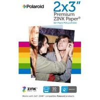 Polaroid POLZ2X350 2x3-Inch Premium Zink Photo Paper Quintuple Pack for Polaroid Snap, Z2300, Socialmatic Instant Cameras & Zip Instant Printer (50 Sheets)