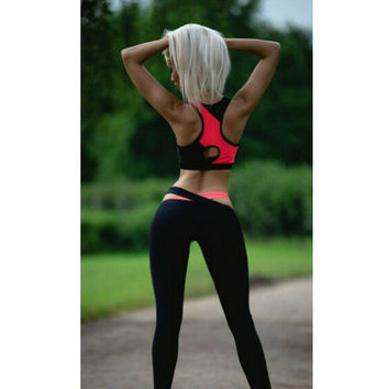 sport suit women 2 piece set women suit set crop top legging set outfit suit for fitness workout clothes tracksuit set 872
