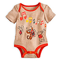 Winnie the Pooh and Pals Disney Cuddly Bodysuit for Baby | Disney Store