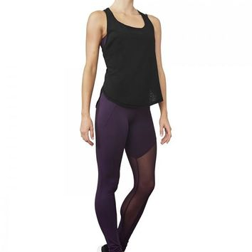 Mesh Panel Stirrup Legging FP5146 by Bloch