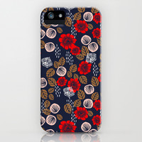 Butterflies in the Garden iPhone & iPod Case by Andrea Lauren Design