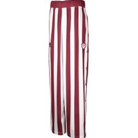 adidas Men's Indiana Hoosiers Striped Warm-Up Tear Away Pants
