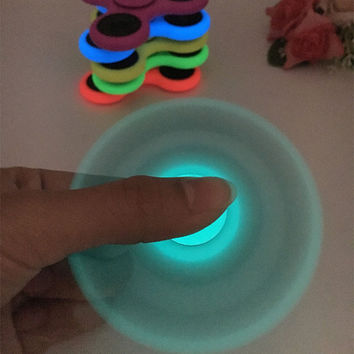 7 different Tri-Spinner Fidgets Toy Luminous and hybrid ceramic EDC Sensory Fidget Spinner For Autism ADHD Kids
