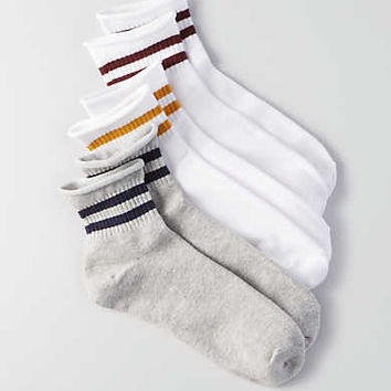 AEO Ankle Socks 3-Pack , White