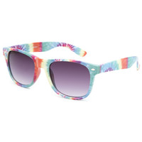 Blue Crown Ashbury Tie Dye Sunglasses Multi One Size For Women 25708995701
