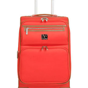 CLOSEOUT! Diane von Furstenberg Suitcase, 20 Private Jet II Rolling Carry On Expandable Spinner Upright - Burnt Orange Color - Upright Luggage - luggage - Macy's