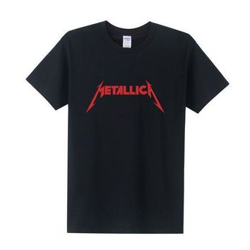 Fashion Rock Metallica T Shirt Men Cotton O Neck Tees Shirts For Couple Hip Hop Rock Shirts Tees Free Shipping Ot 024