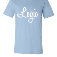 Logic Logo White - Unisex T-shirt