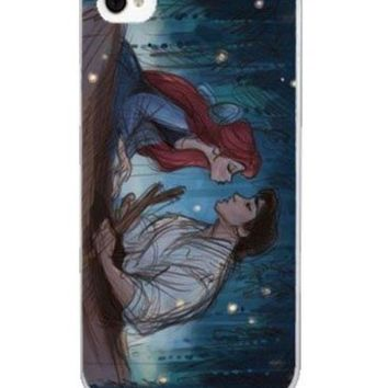 Disney Princess Ariel Mermaid - Boating with prince Hard Case Back Cover for Iphone 4 or 4s