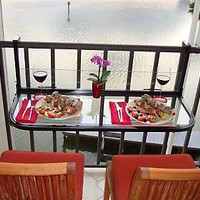 The Terrace Table Outdoor Hanging Patio Table — QVC.com