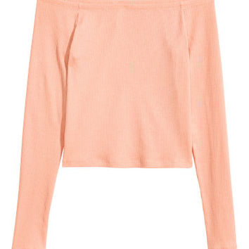 H&M Off-the-shoulder Top $12.99