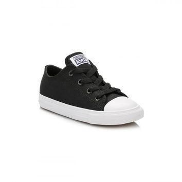 converse all star chuck taylor ii infant black white ox trainers