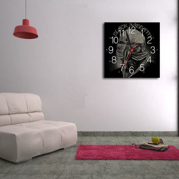 Black Sabbath Canvas Print Wall Clock