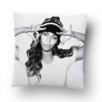 Beyonce Hip Hop Style Pillow Cover