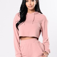 Comfy and Cozy Top - Mauve