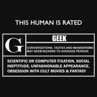 """This Human is Rated G for """"Geek"""" by Samuel Sheats"""