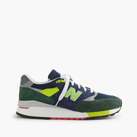 Limited-Edition New Balance For J.Crew 998 Royalty Sneakers