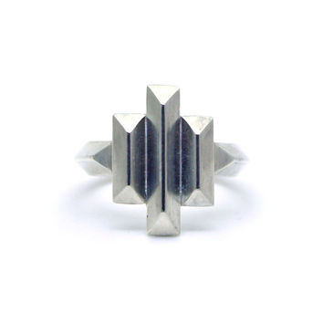 Deco Cocktail Ring