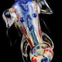 Color Changing Glass Elephant Pipe