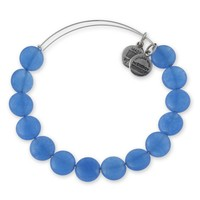 Blue Raspberry Sugar Rush Beaded Bangle