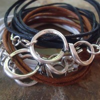 INFINITE wrap bracelet with node in 3 colors by AsaiBolivien 8,90 US$