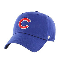 Chicago Cubs - Logo Clean Up Royal Blue Adjustable Baseball Cap
